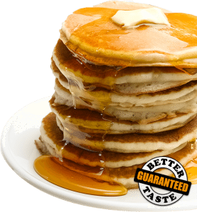 Stack of Pancakes made with Steam Shell Griddle