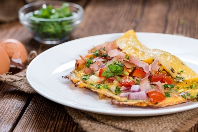 A Scrumptious Country Omelet Griddle Recipe