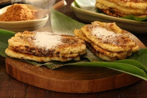 Pisang Plenet, the Grilled and Flattened Plantain Bananas from Semarang