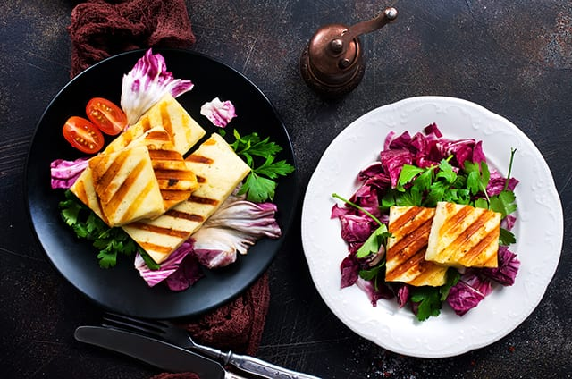 Griddle Recipes for Halloumi Cheese