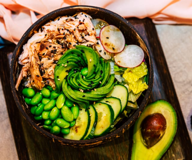 Healthy Griddle Buddha Bowl